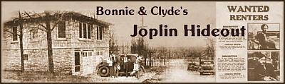Bonnie & Clyde's Joplin Hideout